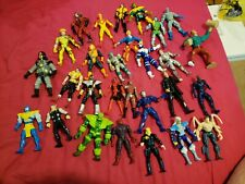 ToyBiz Marvel Action Figure Lot Vintage 90s Lot of 28 figures great shape