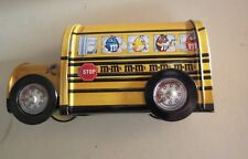 M&M Tin School Bus Brand New MIB