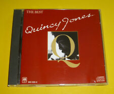 "CD  "" QUINCY JONES - THE BEST "" 10 GREATEST HITS (STUFF LIKE THAT)"