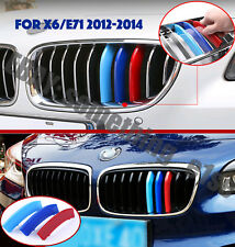 BMW X6/E71 2012-14,Kidney Grille Motorsports 3/tri-Colour Cover/Cap/Clip/strip