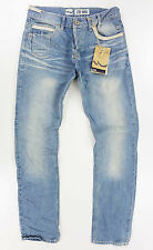"Men/'S M /& S Stormwear Denim Jeans//Grigio//Verde Taglia W 44/"" L 29/"" regolare"
