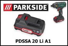2Ah Parkside bateria atornillador impacto Battery impact driver PDSSA 20v Li A1