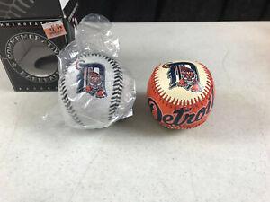 2 - vintage Detroit Tigers Baseballs Franklin Fotoball