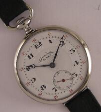 Early CHRONOMETRE ALPES-Patria 1900 Swiss Wrist Watch Perfect Serviced
