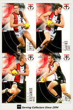 2012 Select AFL Eternity Card Series Base Card Team Set St. Kilda (12)