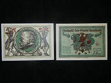 Notgeld der Stadt Arnstadt 25 Pfennig von A. Paul Weber (meine Pos-Nr. 25-3-1)