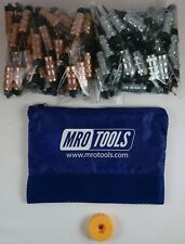 50 1/8 & 50 3/32 Hex-Nut Cleco Fasteners w/ HBHT Tool & Carry Bag (KHN4S100-3)