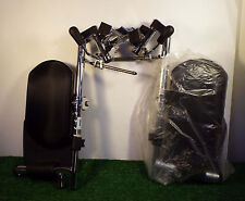 1 NEW PAIR DRIVE SWING-AWAY ELEVATING LEG REST w/PADDED CALF PADS