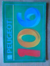 PEUGEOT 106 Range orig 1991 UK Mkt Prestige Brochure - XSi XT XR XN