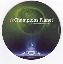 ★ HEINEKEN ★  Champions League  #2 Sous bock coaster deckel