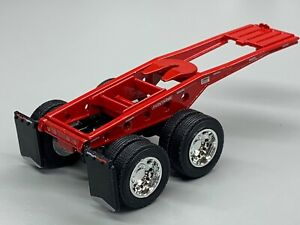 1/64 DCP RED FONTAINE MAGNITUDE LOWBOY JEEP