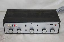 K&H Telewatt Klein & Hummel stereo tube amplifier model VS-56