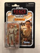 Star Wars The Force Awakens Collezione Vintage Rey (jakku) Statuetta Hasbro 2017