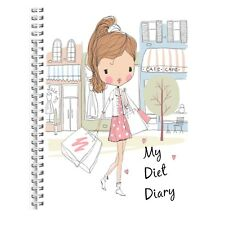 Diet Food Diary Slimming Tracker Food Weight Loss Dieting Journal Running SP