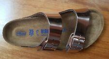 Birkenstock Arizona BS Metallic Copper Leather