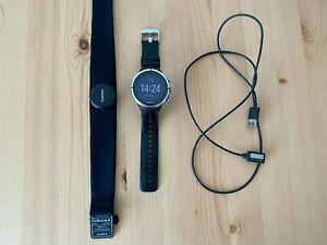 Suunto Spartan Ultra Black (HR) mit GPS und Brustgurt