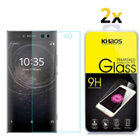 2-Pack Khaos For Sony Xperia XA2 Ultra Tempered Glass Screen Protector