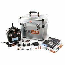 Spektrum SPM20000 DX20 20-Channel DSMX Transmitter with AR9020 Receiver Mode 2 !