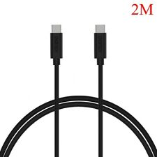 Type-c 3.1 to Usb-c Sync Data Fast Charging Cable for MacBook XIAOMI 5 LG G6 G5 2m