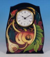 Decorative Clock Moorcroft Pottery