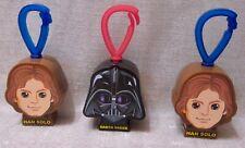Star Wars McDonald's Han Solo & Darth Vader  Light Up Keychain   2019