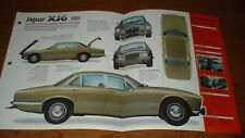 ★★1968 JAGUAR XJ6 2.8 SPEC SHEET BROCHURE POSTER PRINT INFO PHOTO 68 69 70-73★★
