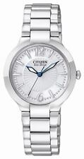 Citizen Eco-Drive Stainless Steel Case Adult Wristwatches