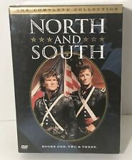 DVD SET North and South Complete TV Series Collection Books 1 2 & 3 DVD SET