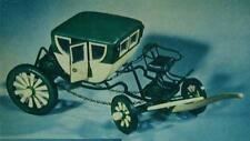 """George Washington's Horse Drawn Coach 10"""" Model How-To build PLANS"""