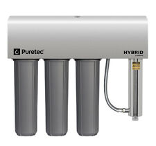 Puretec HYBRID-G13 Whole House Triple Filter and UV System 120lpm
