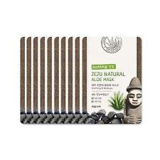 [Welcos] Jeju Natural Aloe Mask Soothing And Moisture Mask Sheets (10pcs)