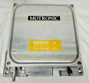 Bosch  0 261 200  007 BMW 528e E28   DME  Computer Motronic  fast shipping