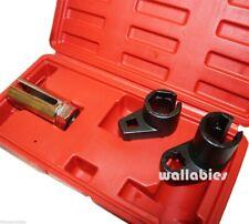 New 3pc Oxygen Sensor 02 Sockets Tool Set Automotive Wrench 7/8 22mm