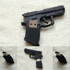 Newest Gun Pistol Shape 8GB USB 2.0 Memory Driver Stick Flash Drive Great gift