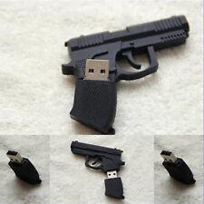 Newest Gun Pistol Shape 8GB USB 2.0 Memory Driver Stick Flash Drive Great gift