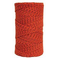 W Rose Super Tough Mason Twine 685' Roll Orange and Black
