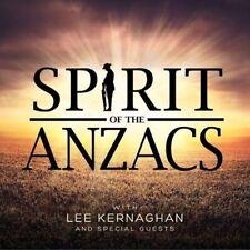 LEE KERNAGHAN (SPIRIT OF THE ANZACS - CD SEALED + FREE POST)