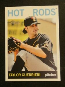 2013 Topps Heritage Minors, Bowling Green Hot Rods - TAYLOR GUERRIERI