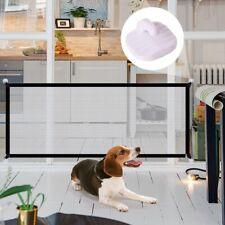 Pet Barrier Fences Portable Folding Breathable Mesh Dog Gate Pet Separation Guar