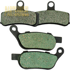 Front Rear Kevlar Carbon Brake Pads For HARLEY FXDWG Dyna Wide Glide FXDC Super