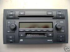 Audi A6 Autoradio Symphony 2 CD Wechsler werkstattüberholt !!