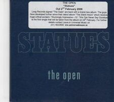 (DW708) The Open, Statues, 5 track sampler - 2006 DJ CD