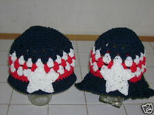 Boutique Crochet July4Th Beanie-