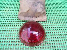 NOS MoPar 1941 41 Plymouth P11 P12 stop lamp LENS AZ 903461