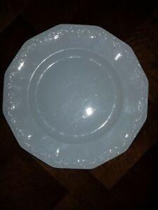 Porzellan Rosenthal Maria Weiß, 1 Speiseteller, Durchm. 24,5 cm