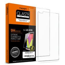 [2PK] LG V20 SPIGEN [GLAS.tR SLIM] Shockproof Tempered Glass Screen Protector