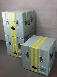 British Royal Navy - Military - MOD - Heavy Duty Equipment Storage Case Box