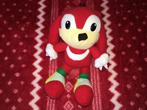 """Thailand 7"""" KNUCKLES Sonic Plush Toy Doll Fighters 90s Bootleg Unofficial"""