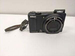 Nikon COOLPIX S9100 12.1MP Digital Camera Tested!  - Black, A2A