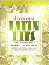 Famous Latin Hits 2nd Edition for Piano Sheet Music Book SAME DAY DISPATCH